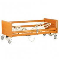 Кровать с электроприводом 4х-секционное на колесах
