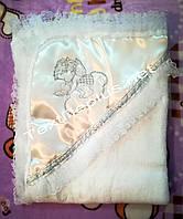 Крыжма кружево софт атлас серебро Textile plus