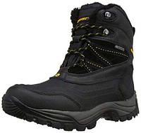 Мужские ботинки Hi-tec SNOW PEAK 200 WP-BLACK/GOLD