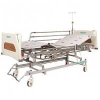 Кровать с электроприводом 4х-секционное с усиленными колесами