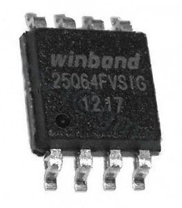 Мікросхема 25Q64FVSIG W25Q64 25Q64 SOP8