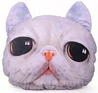 """Подушка """"Кіт Жасік"""" 3D 35 х33 см"""