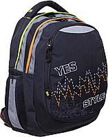 """Рюкзак подростковый Т-22 """"Pulse"""", 40*34*24см"""