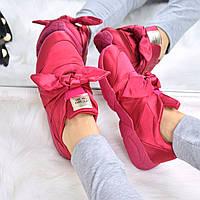 Кроссовки женские Atlas красные 3563, спортивная обувь