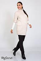 Прямые брюки для беременных Lera теплые, черные, фото 1