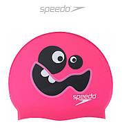 Силиконовая шапочка для плавания Speedo Critter Goo Bots (Pink)