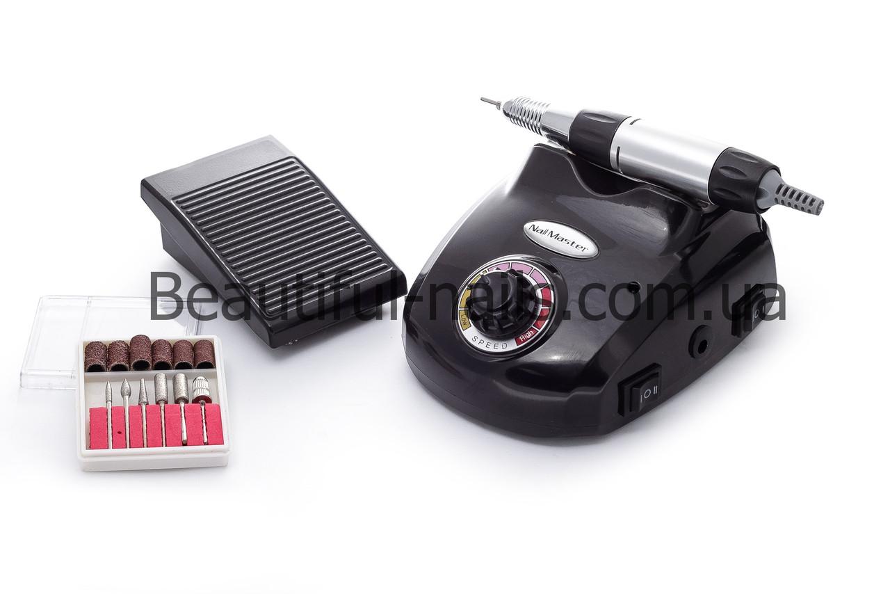 Фрезер для маникюра и педикюра с ножной педалью DM-208 на 30 тыс.об/мин.30 ватт