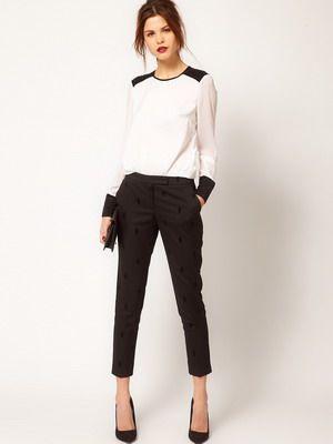 Классические брюки женские