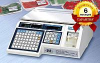 Весы с печатью этикетки CAS - LP 1.5 (без стойки) Ethernet бу