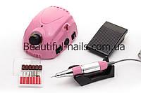 Профессиональный фрезер для маникюра DM-212  на 35 тыс.об/мин 35 ватт(розовый), фото 1