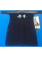 Модная школьная юбка темно синяя на резинке  р 116-134