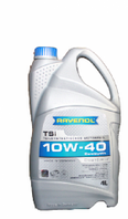 Полусинтетическое моторное масло (ГБО) Ravenol 10w40 TEG
