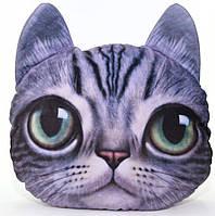 """Подушка """"Кішка Люся"""" 3D 35 х33 см"""