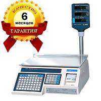 Весы с печатью этикеток CAS - LP 1.5 (со стойкой) бу
