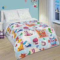 Постельное белье в кроватку поплин Плюшевый мир