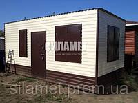 Бытовки строительные металлические, деревянные 4х2.4м