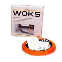 Тонкий двухжильный кабель Woks-10 450W (48м)