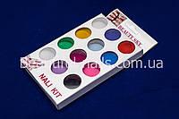 Бархатный песок для ногтей,12 цветов