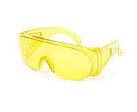 Очки защитные строительные желтые Украина