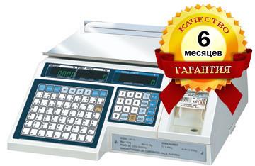 CAS - LP 1.6 (без стойки) RS-232 БУ Весы с Печатью Этикеток