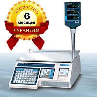 Весы с печатью этикеток CAS - LP 1.6 (со стойкой) RS-232 бу