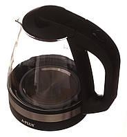 Электрочайник стеклянный A-Plus 1,7 л  (2131)