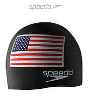 Силиконовая шапочка для плавания Speedo American USA Flag