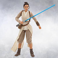 Коллекционная кукла Disney Star Wars Elite Series Rey, Звездные войны Рей. Оригинал, Disney