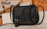 Женская стильная сумка-клатч (Черный)