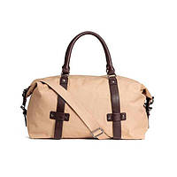 Холщовая мужская дорожная сумка H&M