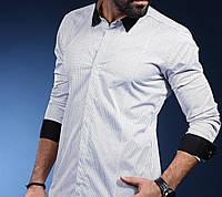 Модная классическая рубашка из хлопка