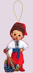 Кукла Украина-М из фетра