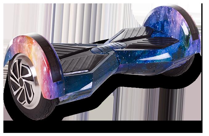 Гироскутер Smart Balance 8 дюймов Гироборд LED Bluetooth Сумка ТаоТао (Галактика)