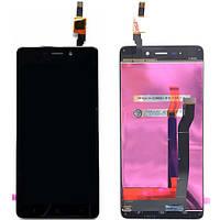 Дисплей (экран) для Xiaomi Redmi 4 ксиоми + тачскрин, цвет черный