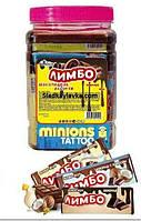 Жевательная конфета Лимбо Шоколадная Банка 40 шт (Tayas)