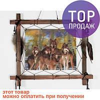 Ловец снов В осеннем лесу голограмма 40 см / аксессуары для дома