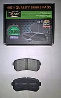 Тормозные колодки задние Kia Rio II, Sportage