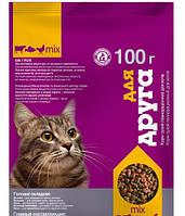 Корм для котов Для Друга 100 г (Микс)