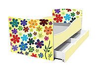 Кровать детская Киндер 1400х700 с ящиком