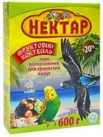 Корм для попугаев Нектар Фруктовый коктейль 600г Лори