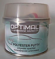 Шпатлевка с алюминием OPTIMAL ALU 0.250кг
