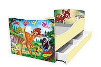 Кровать детская Киндер  1550х700, фото 1