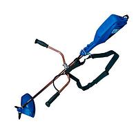 Электрическая коса Витязь КГ-3200 садовый триммер для травы газона (велосипедная ручка, цельный вал)
