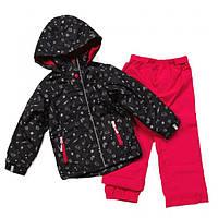 Демисезонный комплект для девочки 1-10 лет NANO (куртка и брюки), рост 80-140 ТМ Nanö 262 M S17
