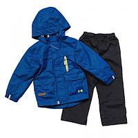 Демисезонный комплект для мальчика NANO от 1 до 10 лет (куртка и брюки), р. 86-140 ТМ Nanö Textured Classical 283 M S17