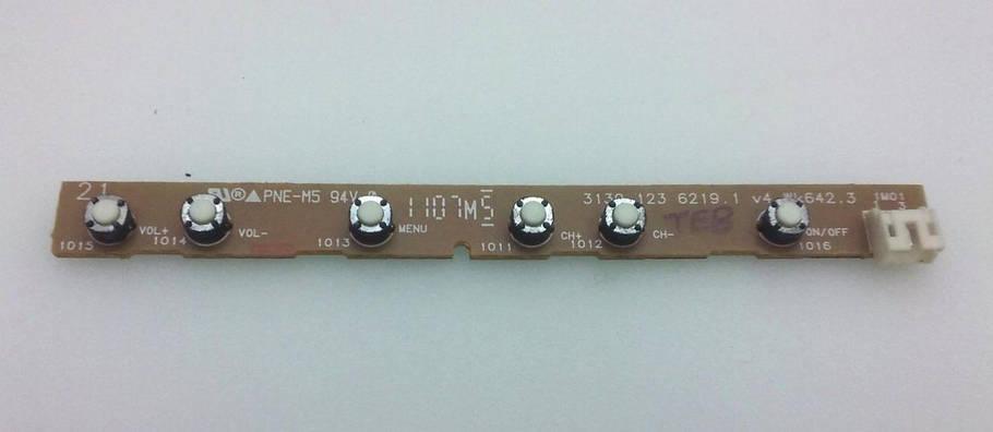 Кнопки 31391236219.1 (WK642.3) Key Controller Board, фото 2