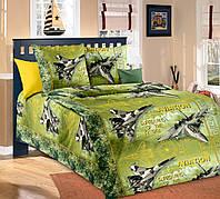 Постельное белье в кроватку бязь Стражи неба зел