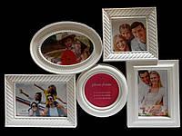 Мультирамка для семейных снимков , на 5 фотографий . Доставка из Харьковской области