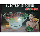 Весы кухонные с чашей  Electric Kitchen Weighing Scale, фото 5