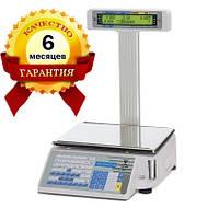 Весы с печатью этикетки Digi SM 300P бу